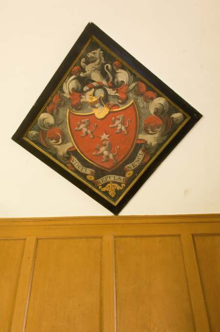 George Ross hatchment, East Church, Cromarty