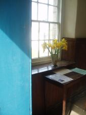 day lilies in vestry