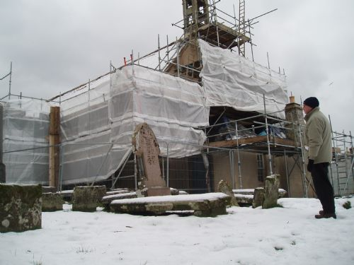 East Church, Cromarty winter 2009