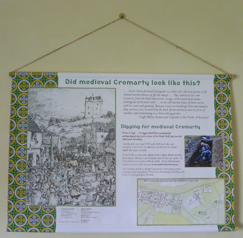 East Church, medieval Cromarty exhibition