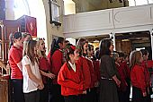 East Church, Cromarty school concert