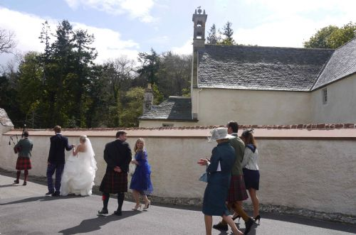 East Church, Cromarty wedding